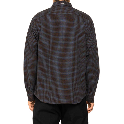 visvim Handyman Shirt L/S (Indigo CK) Brown, Bottoms