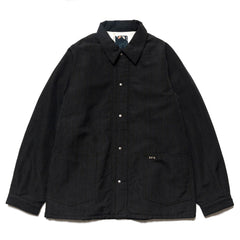 visvim I.C.T. Section Gang Coverall Black, Jackets