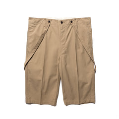 visvim Jumbo Pastoral Braces Shorts Beige, Bottoms