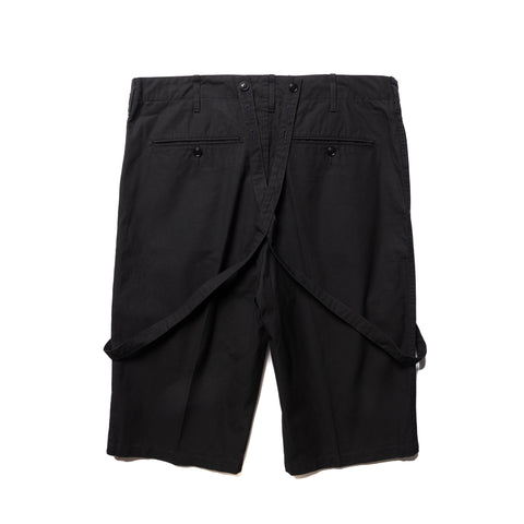 visvim Jumbo Pastoral Braces Shorts Navy, Bottoms