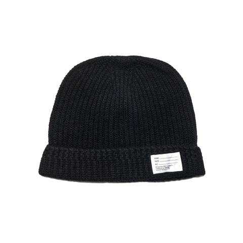 visvim Knit Beanie (Wool) Black