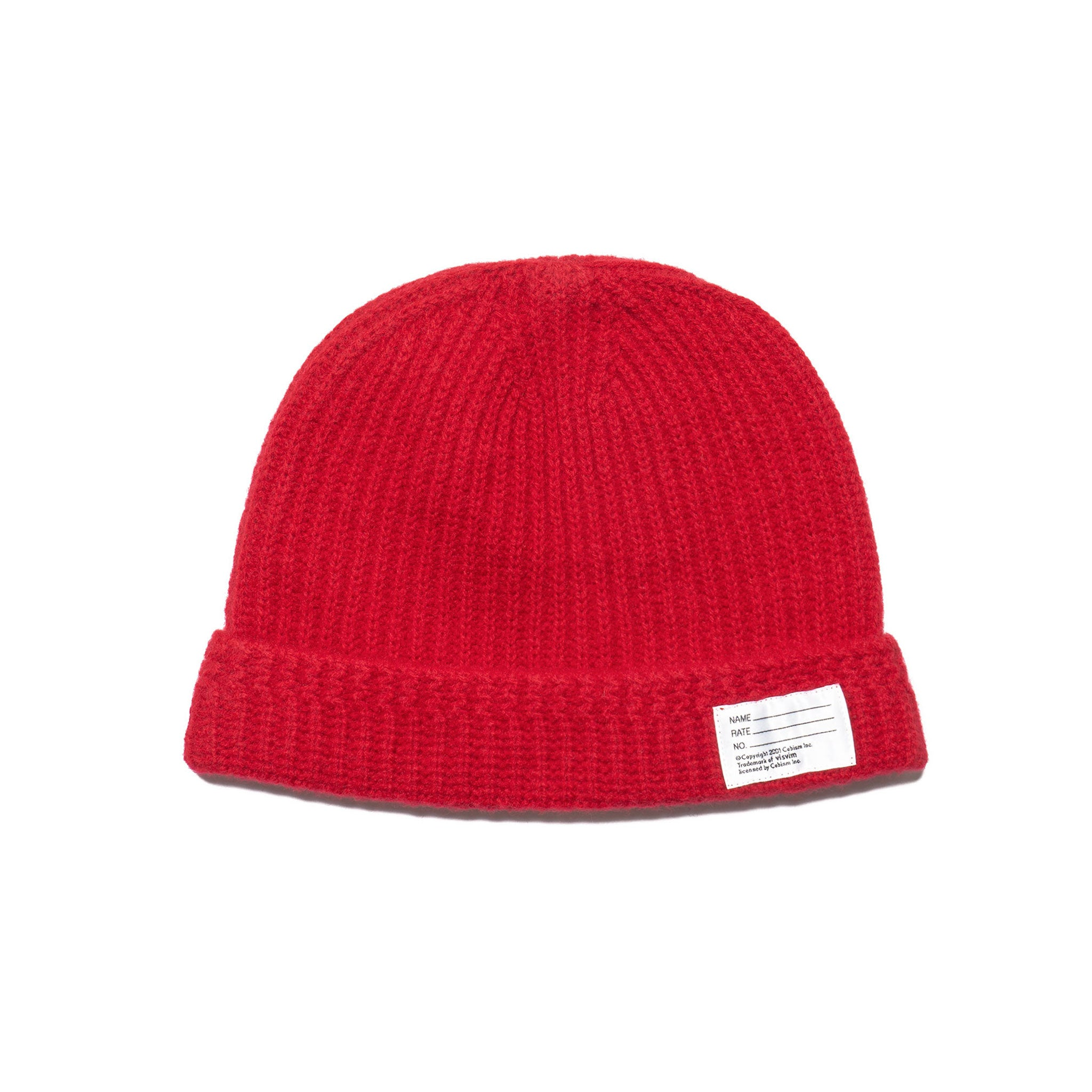Knit Beanie (Wool) Red – HAVEN 7a840c2beb65
