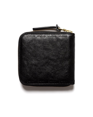 visvim Leather Bi-Fold Wallet Black, Accessories