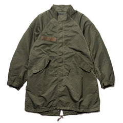 visvim I.C.T. Six-Five Fishtail Parka Olive, Outerwear