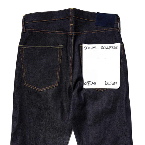 visvim Social Sculpture 01 Red Edge Indigo, Bottoms