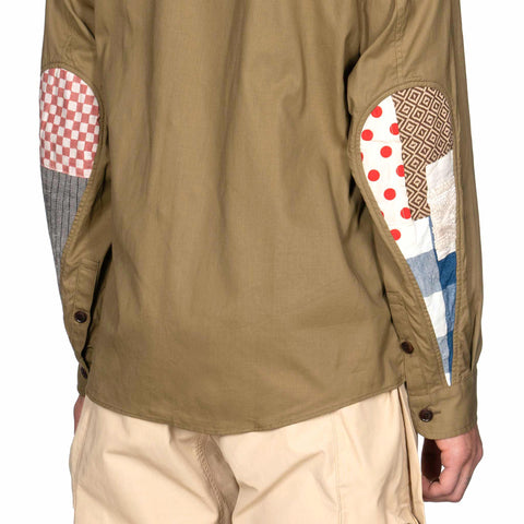 visvim USM Albacore Shirt L/S Collage Khaki, Shirts