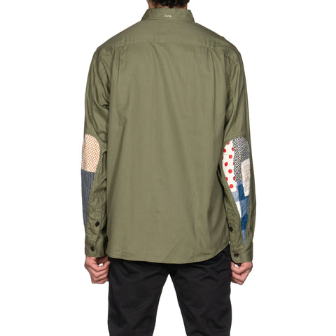 visvim USM Albacore Shirt L/S Collage Olive, Shirts