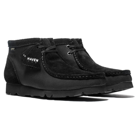HAVEN /Clarks® Originals GORE-TEX® Ballistic Wallabee Boot Black, Footwear