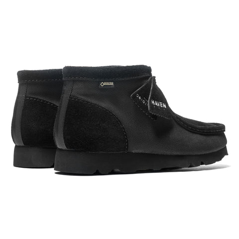 HAVEN / Clarks® Originals GORE-TEX® Ballistic Wallabee Boot Black, Footwear