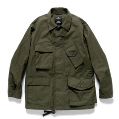 HAVEN / Engineered Garments Cascadia Jacket - EtaProof Ripstop Olive, Outerwear