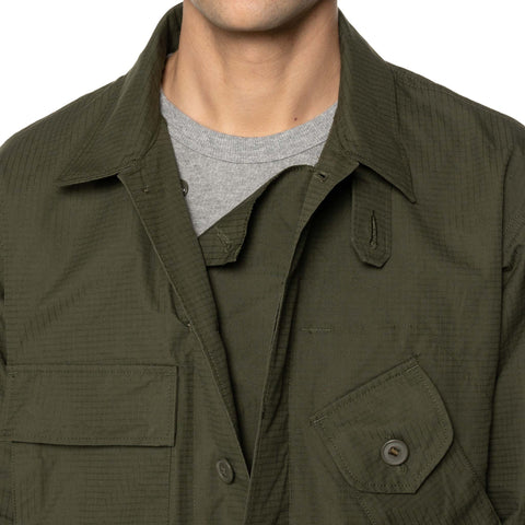HAVEN / Engineered Garments Cascadia Jacket - Stotz® EtaProof™ Ripstop Olive, Outerwear