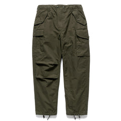 HAVEN / Engineered Garments Cascadia Pants - EtaProof Ripstop Olive, Bottoms