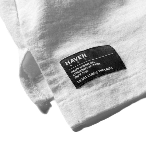 HAVEN / Engineered Garments Reflective Spec T-Shirt White, T-Shirts