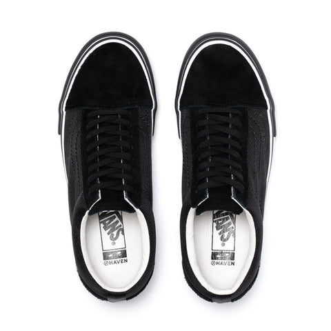 HAVEN / Vans Vault OLD SKOOL VLT LX Black, Footwear