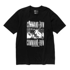 HAVEN / mo'design Command T-Shirt - Cotton Jersey Black, T-Shirts