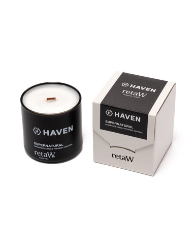 HAVEN / retaW Fragrance Candle Supernatural, Apothecary