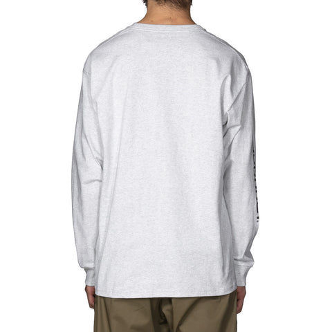 SOPHNET. x Carhartt WIP 20th L/S Pocket T-Shirt Ash Heather, T-Shirts