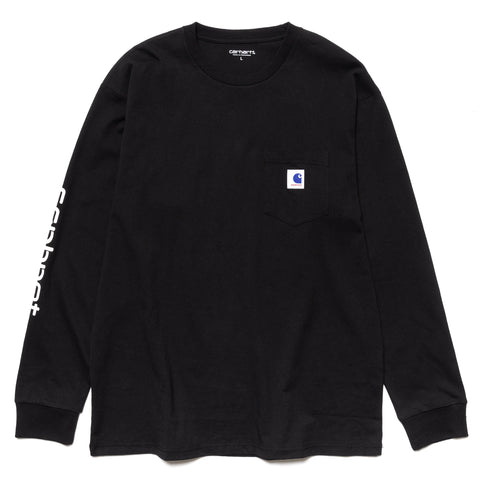 SOPHNET. x Carhartt WIP 20th L/S Pocket T-Shirt Black, T-Shirts