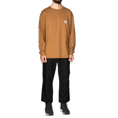SOPHNET. x Carhartt WIP 20th L/S Pocket T-Shirt Hamilton Brown, T-Shirts