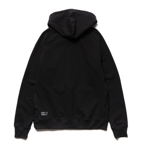 HAVEN Midweight Zip Hoodie - Cotton Terry Black, Sweaters