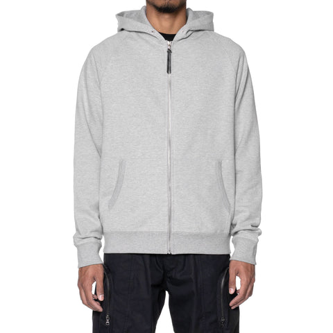 HAVEN Midweight Zip Hoodie - Cotton Terry H.Grey, Sweaters