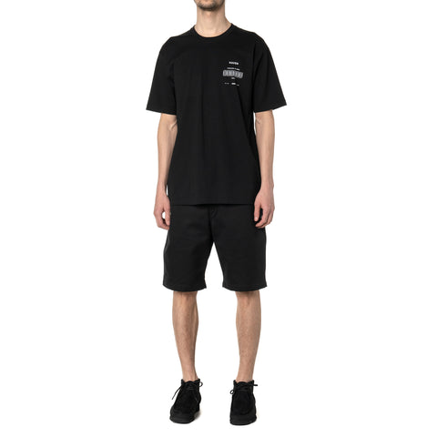 HAVEN / Worship Stacked T-Shirt - Cotton Jersey Black, T-Shirts