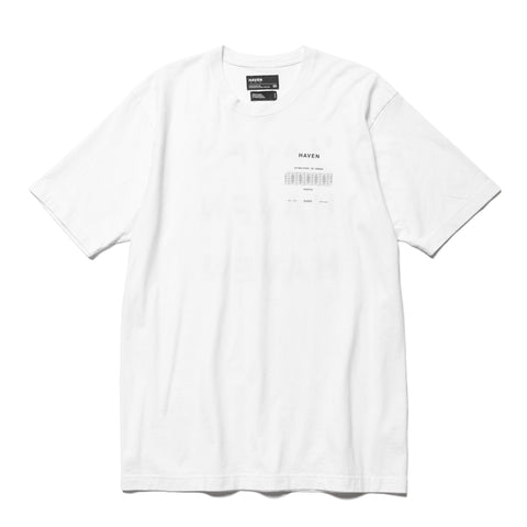 HAVEN / Worship Stacked T-Shirt - Cotton Jersey White, T-Shirts