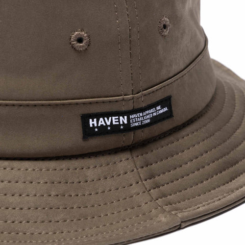HAVEN Field Hat - JP Knitted Polyester Nylon Olive, Headwear