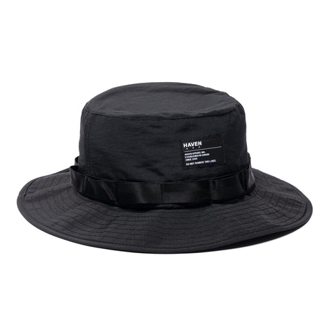 HAVEN Recon Hat - Cotton Nylon Grosgrain Black, Headwear
