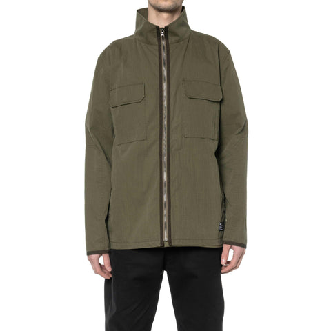 HAVEN Training Jacket - Cotton Nylon Ripstop Olive, Outerwear