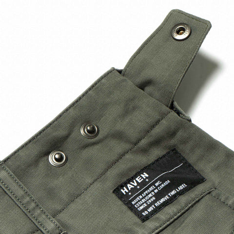 HAVEN Field Shorts - Cotton Army Cloth Olive, Bottoms