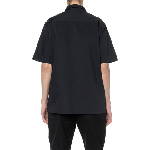 HAVEN Field Shirt S/S - COOLMAX® Cotton Polyester Black, Shirts