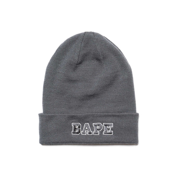 Ape Head One Point Knit Cap Gray – HAVEN 3c752dd4fc1