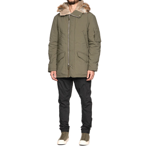 nonnative Airman Puff Coat Poly Weather CUBETEX Olive, Jackets