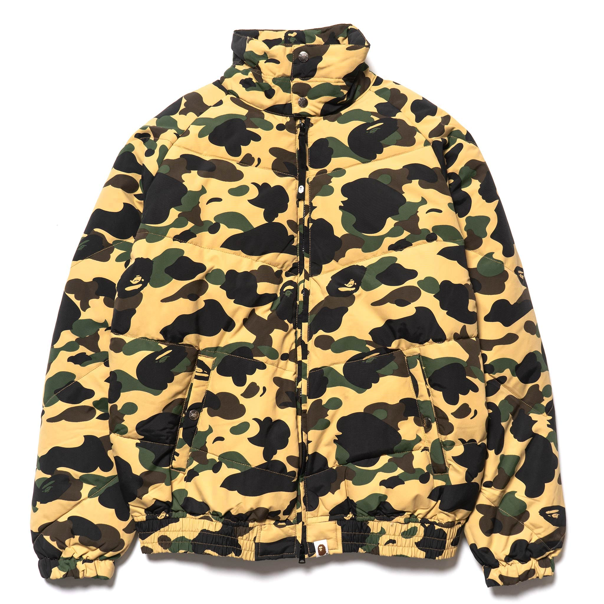 6c4a87f1f06ef 1st Camo Down Jacket Yellow – HAVEN