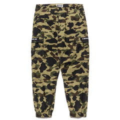 a bathing ape bape 1st Camo Slim 6 Pocket Jogger Pants Green