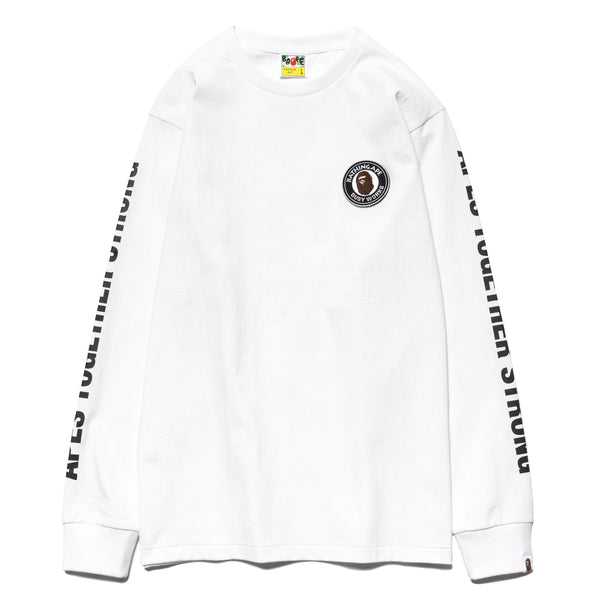 f14bc24a6 Ape Head One Point L/S Tee White – HAVEN