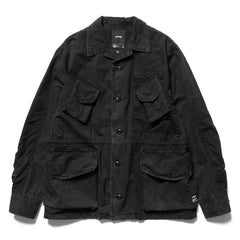 HAVEN Combat Jacket - Sulphur Dyed Cotton Black, Jackets