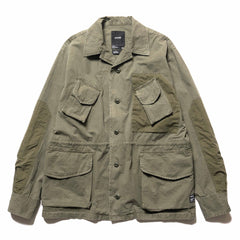 HAVEN Combat Jacket - Sulphur Dyed Cotton Olive, Jackets