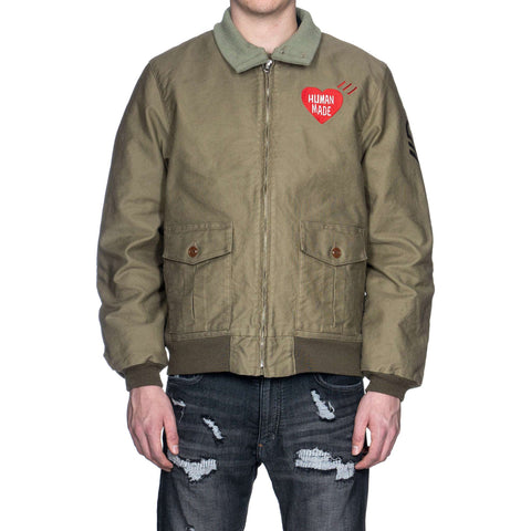 Human Made Tankers Jacket Beige, Jackets