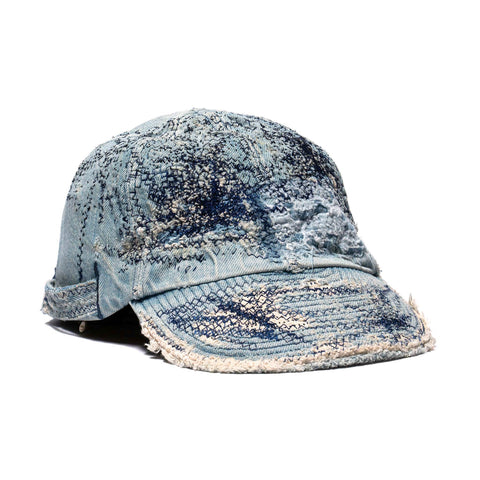 KAPITAL KOUNTRY 11.5oz Denim Kola Cap Crash Remake IDG, Headwear