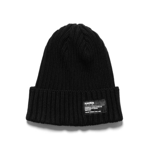 HAVEN Knit Cap - Wool Black
