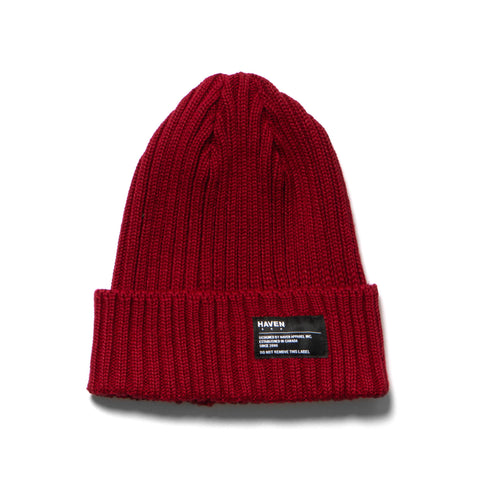 HAVEN Knit Cap - Wool Red