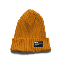 HAVEN Knit Cap - Wool Mustard