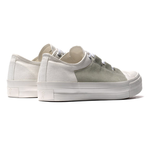 Needles Asymmetric Ghillie Sneaker White, Footwear