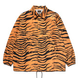 Coach Jacket Poly Taffeta Tiger