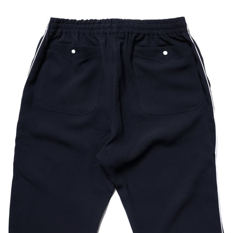 Needles Papillon EMB. String Cowboy Pant Poly Twill Navy, Bottoms