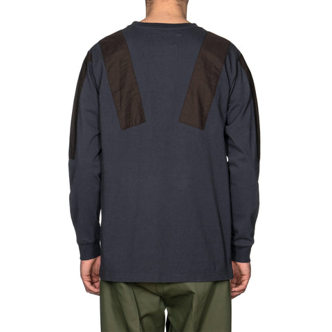 NEIGHBORHOOD Commander / C-Crew . LS Charcoal, Sweaters