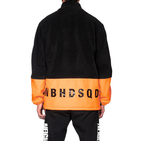 NEIGHBORHOOD SQD . Fleece / E-JKT Orange, Jackets