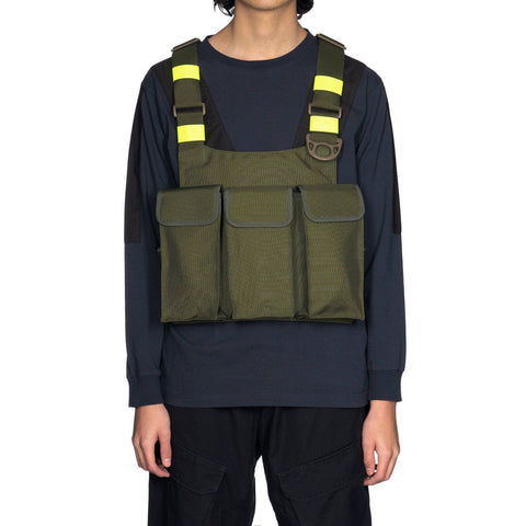 NEIGHBORHOOD x Porter Armor / N-Bag Olive Drab, Accessories
